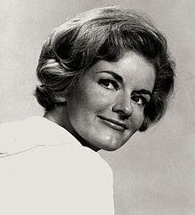 Joyce Beniguia Van Patten, NYC, (1934-       ), character actress.  Sister of actor Dick Van Patten.  Italian, Dutch, English heritage.
