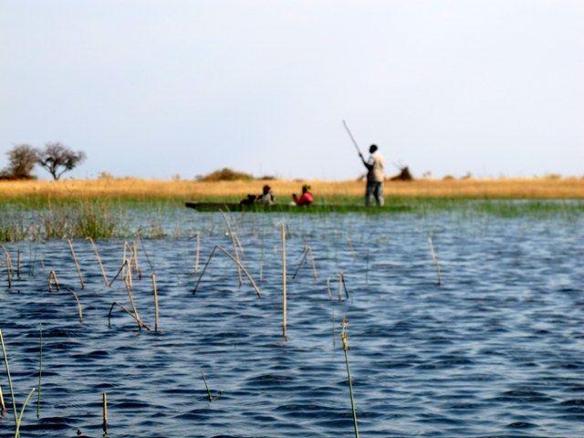 lungo i corsi dell'Okavango