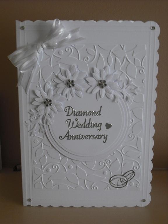 Diamond Wedding Card by: SJCards