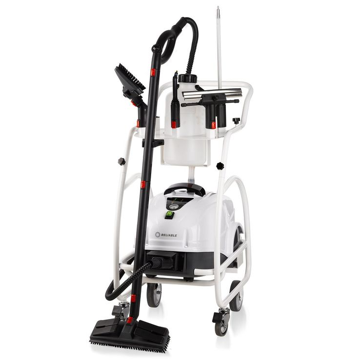 6 Bar pressure commercial steam cleaner with hot water rinse