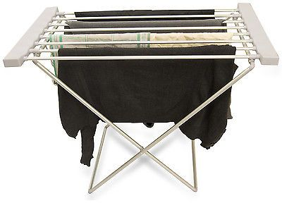 Cloth dryers (http://uk.picclick.com/Foldable-Heated-Clothes-Airer-Laundry-Towel-Indoor-Electric-331776581052.html)