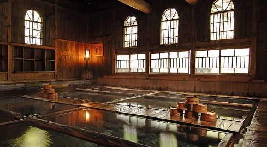Houshi Onsen in Gunma Prefecture is very possibly the best onsen (hot spring) I have ever been to. Over two centuries old, the onsen was built directly above the hotspring source, where it percolates up through the ground, rather than the ubiquitous well and pipe. Chojukan, the connected ryokan (Japanese inn) is run by eighth generation descendent and exudes atmosphere at every turn.