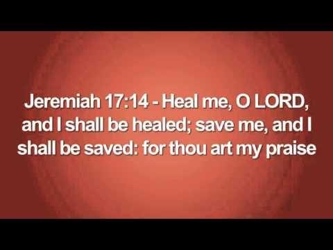 Bible Healing Scriptures KJV - YouTube