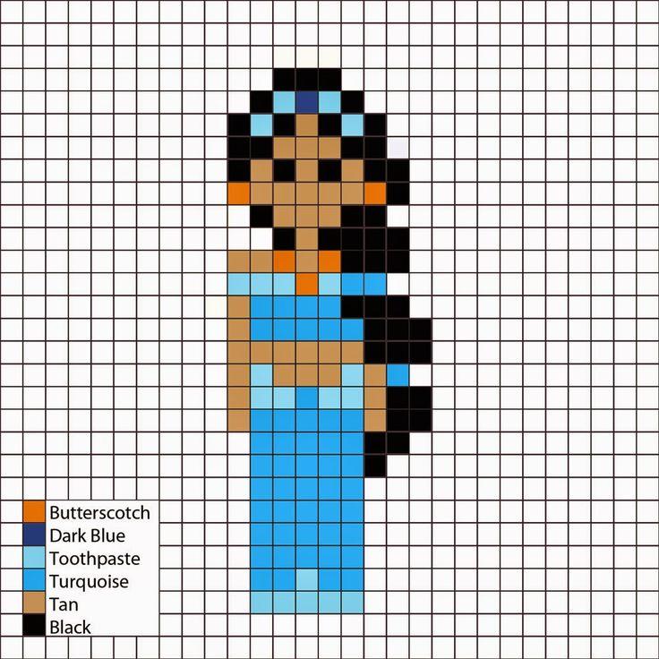 pixel art jasmine