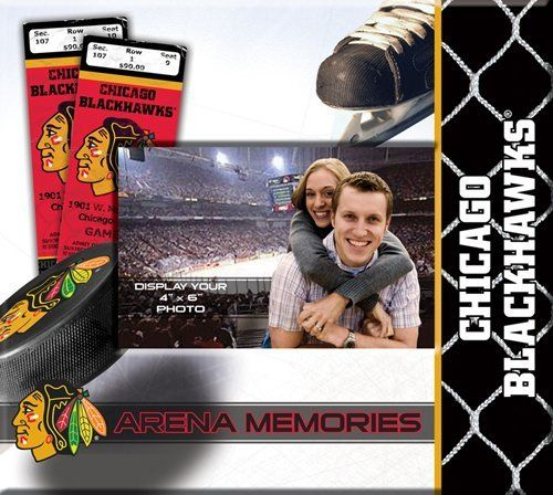 NHL Chicago Blackhawks Scrapbook by That's My Ticket. Save 50 Off!. $10.07. Design features historic game ticketsIncludes 20 standard 8x8 scrapbook pagesAdditional pages can be addedPersonalize with your own photo on the front coverOfficially licensed by NHL