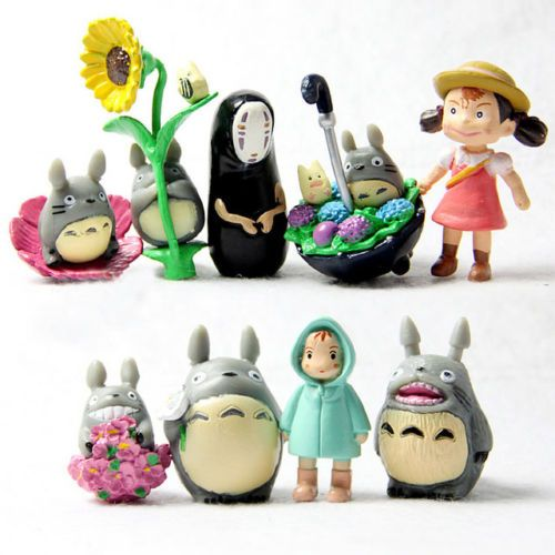 My-Neighbor-Totoro-amp-Spirited-Away-mini-figure-9-pcs-set