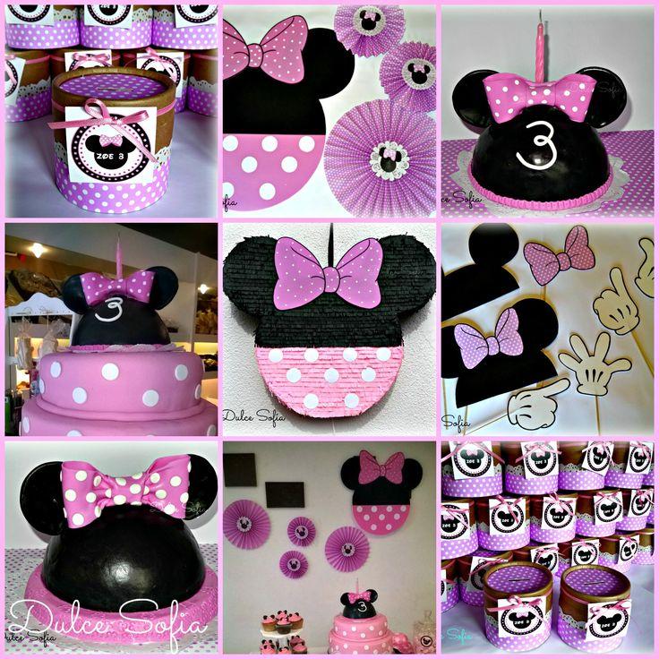 Cumple Minnie Mouse.  https://www.facebook.com/dulce.soffia