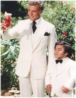 """Welcome....To Fantasy Island!"" 1977 to 1984 on ABC. A revival of the series originally aired on the same network during the 1998–99 season."