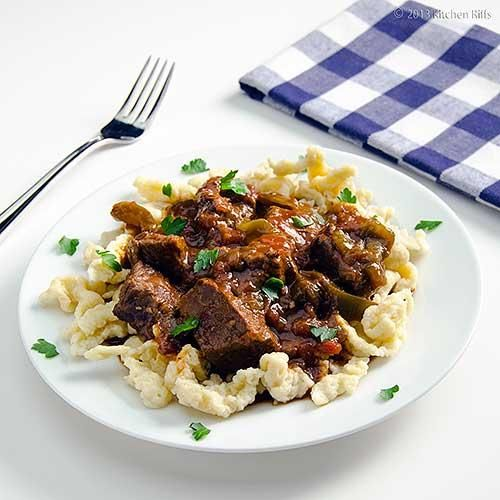 How To Make Hungarian Beef Paprika Stew Beef Recipe