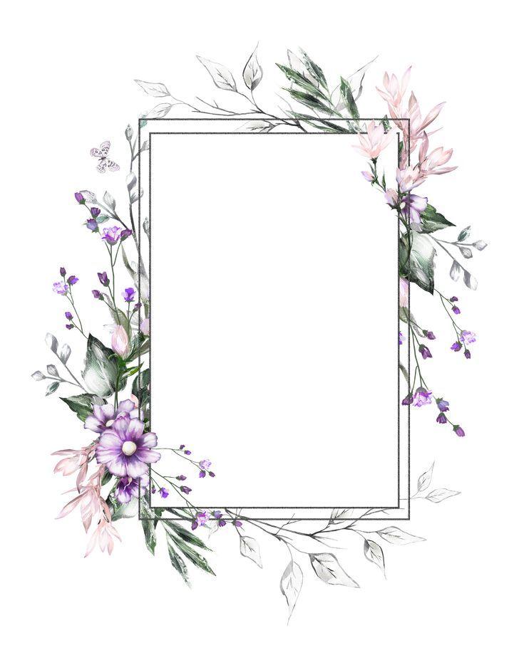 H927 36 H927 Flower Frame Flower Background Wallpaper Floral Poster