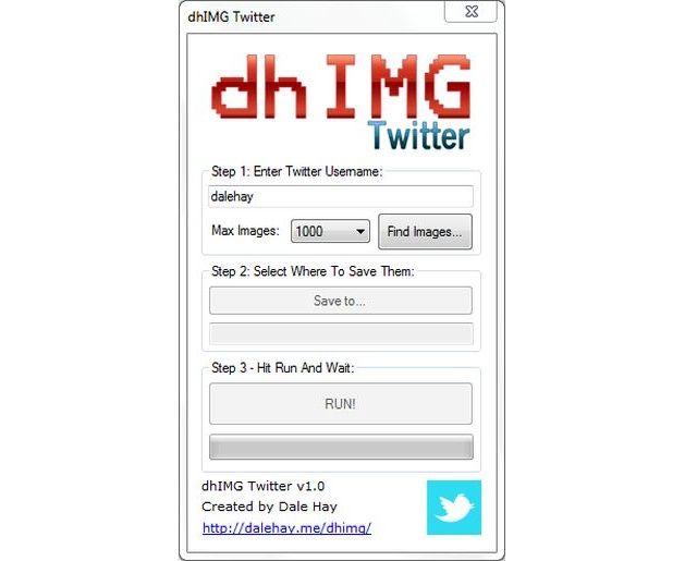 dhIMG Twitter, software para descargar las fotos de cuentas de Twitter