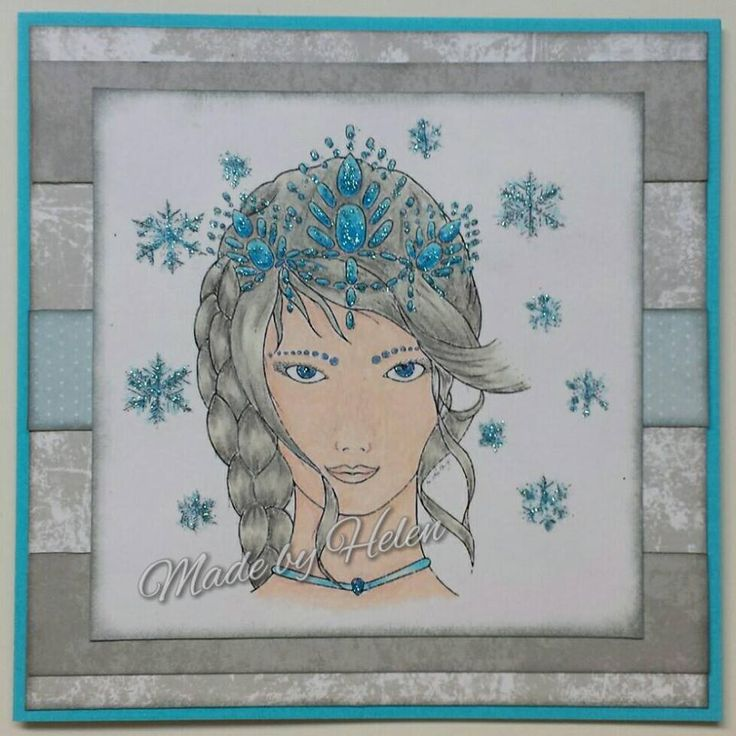 DT Inspiration - Snow Queen - https://sheepski-designs-challenges.blogspot.co.uk/