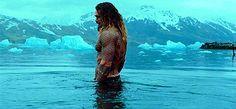 Jason Momoa as Arthur Curry/Aquaman in Justice League (2017)