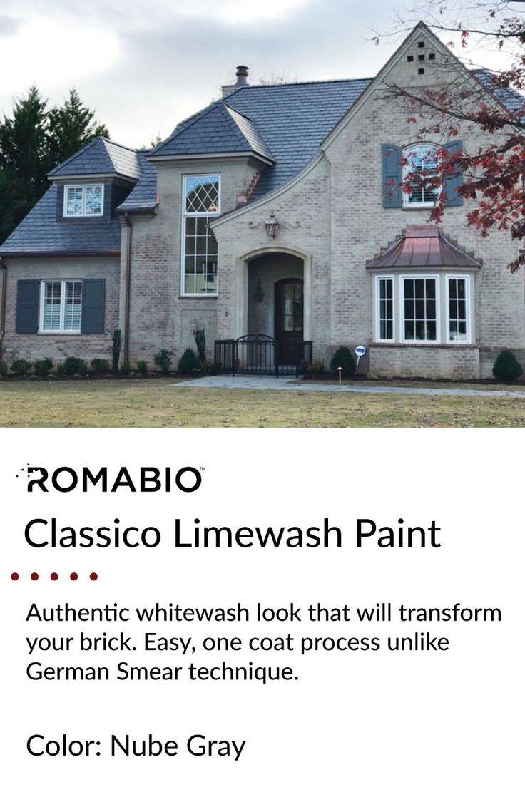 Pin By Romabio On Antique Limewash Paint Painted Brick