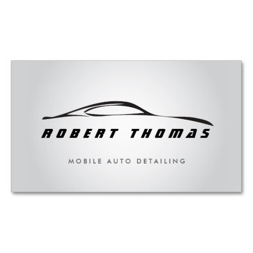 auto sales business cards
