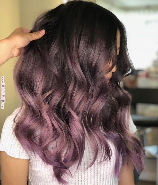 Pin von Lesly auf Frisuren im Jahr 2019  #frisuren… – #auf #balayage #Frisuren…