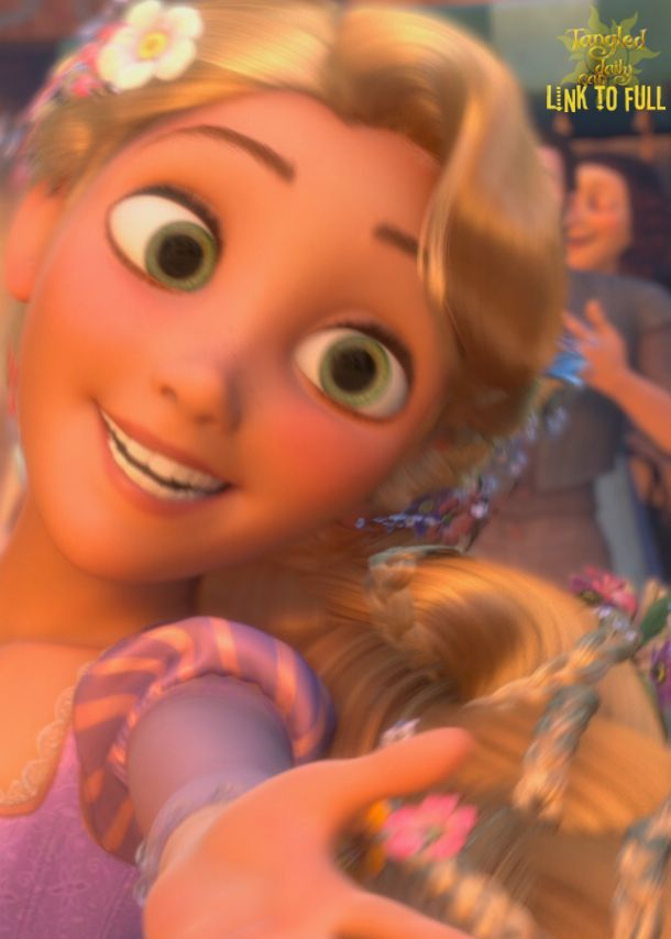 Tangled Daily 'Cap //Gonna have to draw this.
