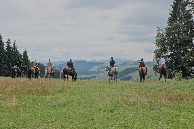 Trail Riding in North Slovakia (Orava)