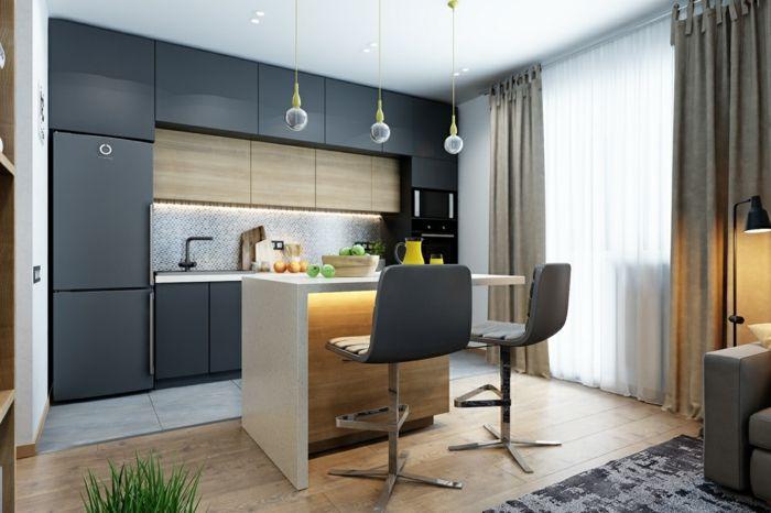 239 besten moderne k chen bilder auf pinterest. Black Bedroom Furniture Sets. Home Design Ideas