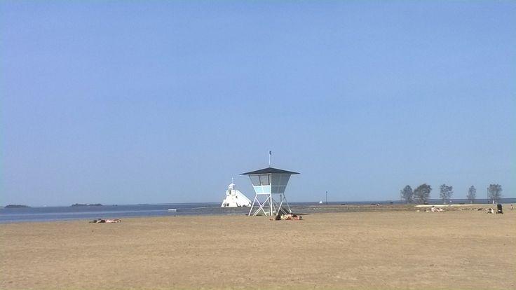 Nallikari Beach in Oulu Finland