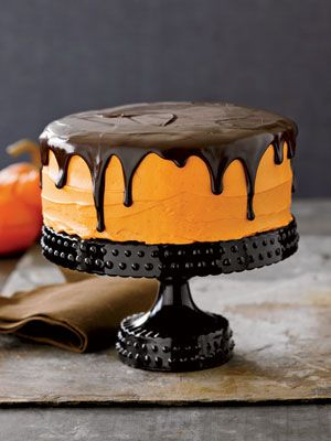 Halloween Cupcake and Cake Recipes - Halloween Cake Decorating Ideas - Country Living