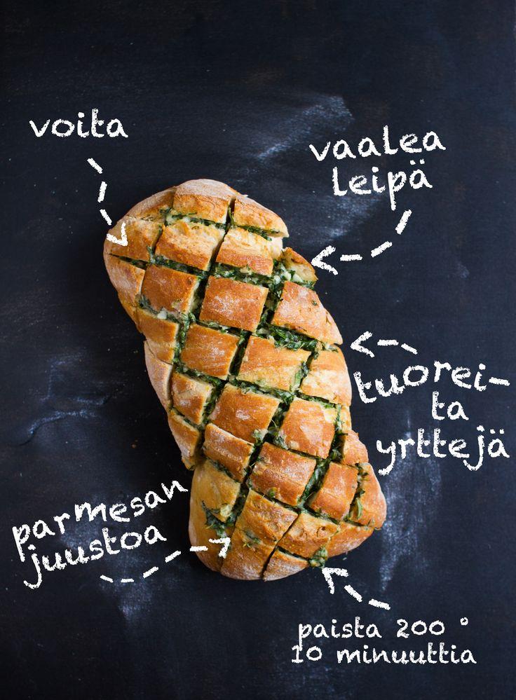 Täytetty herkkuleipä