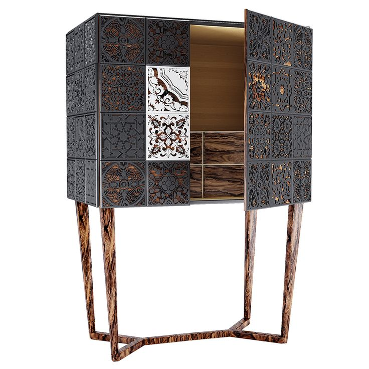 Virtuoso Cabinet - The #art of the tile expands across borders, while portraying…
