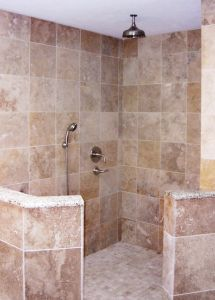 Open Shower Designs Without Doors