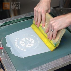 How to screen print your own t-shirts (or anything)
