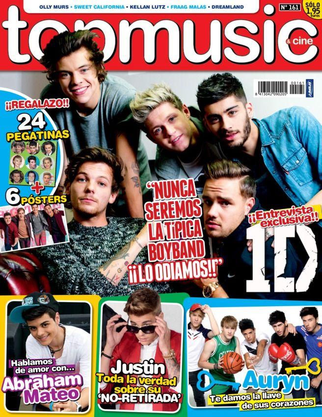 Top Music&Cine - February 2014 : Entrevista exclusiva con One Direction, En busca de los ojazos más bonitos del pop, Nos colamos en el nuevo vídeo de Mario Jefferson, Nuevos Lanzamientos and more...