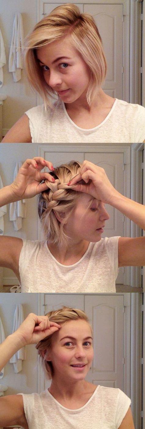 27 Flechtfrisuren für kurzes Haar, die einfach schön sind
