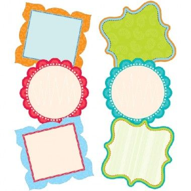 Fancy Cards Dots On Turquoise 6 Designer Cut Outs