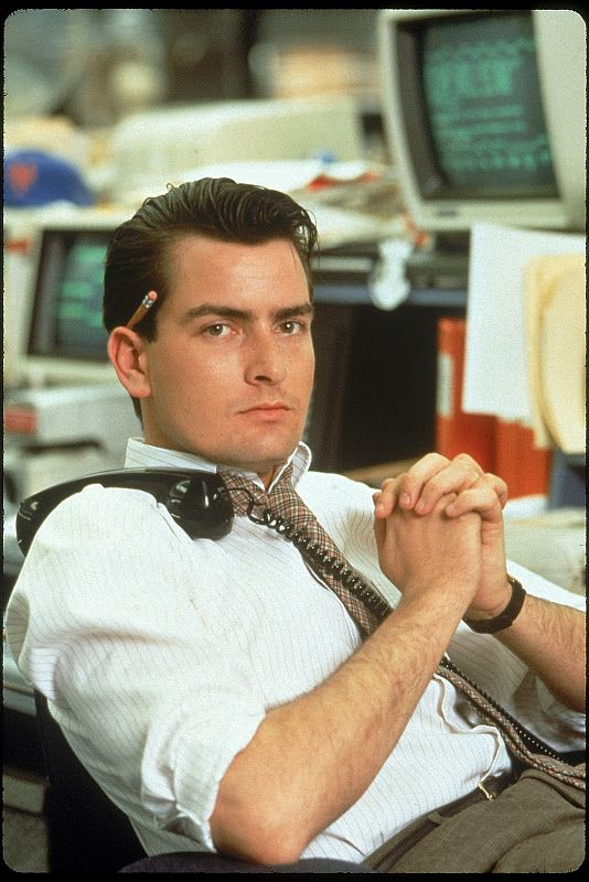 wall street, charlie sheen, 1987