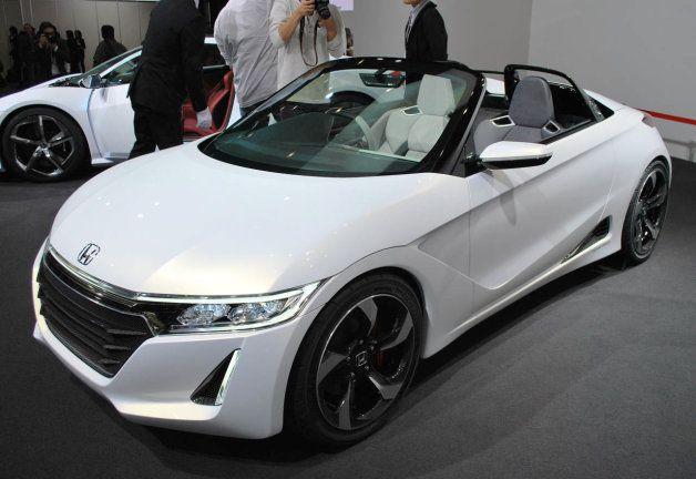 Honda S660 Concept portends a new kei car for 2015