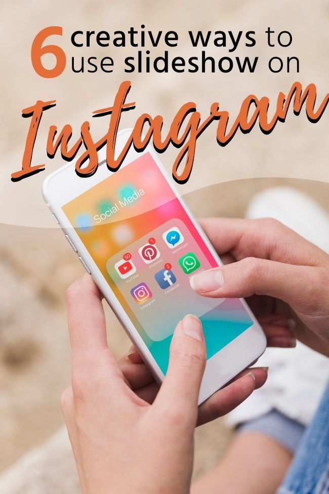 Social Media Tips Instagram Just Launched A New Feature The Instagram Slideshow That Lets You Post Up To 10 Instagram Business Instagram Instagram Marketing