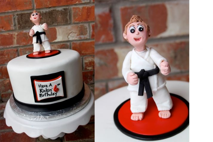 Karate Cake Topper For Sale