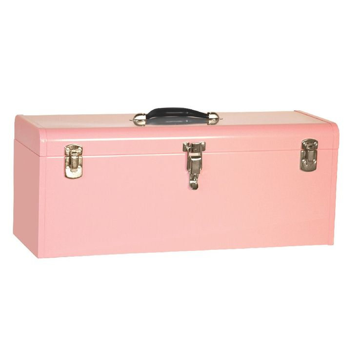 "Kennedy Specialty Hand Carry Tool Box 20"" (Pink)"