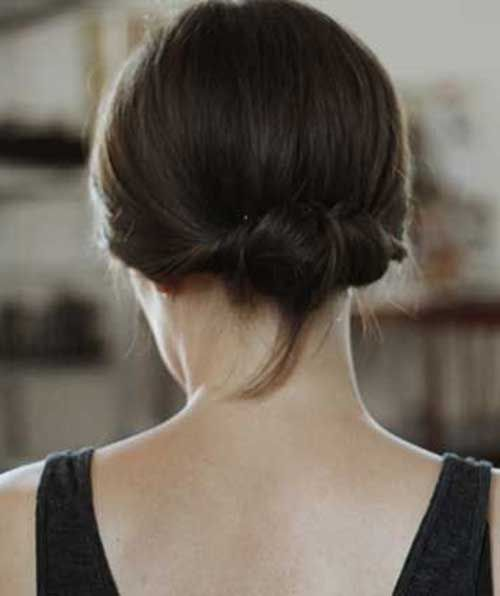 1000+ Ideas About Cute Bun Hairstyles On Pinterest