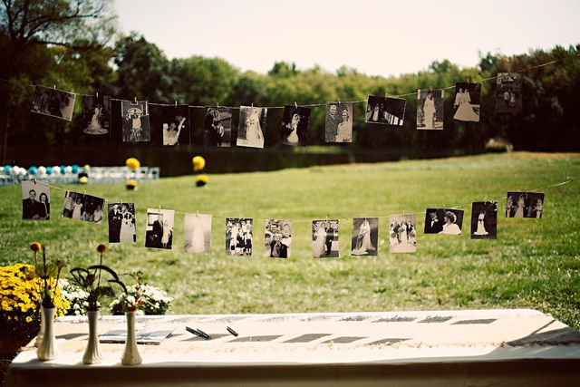 I want to do one of these clothesline picture collages instead of a slideshow.