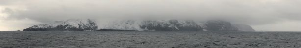 "Bouvet Island: ""A speck of ice in the middle of a freezing fastness: a few square miles of uninhabited volcanic basalt groaning under..."""