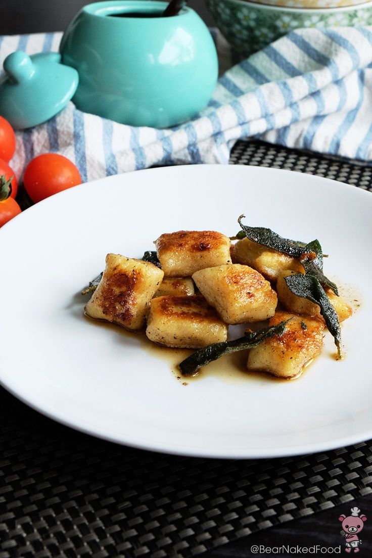 Pan Seared Gnocchi with Brown Butter and Sage - Bear Naked Food