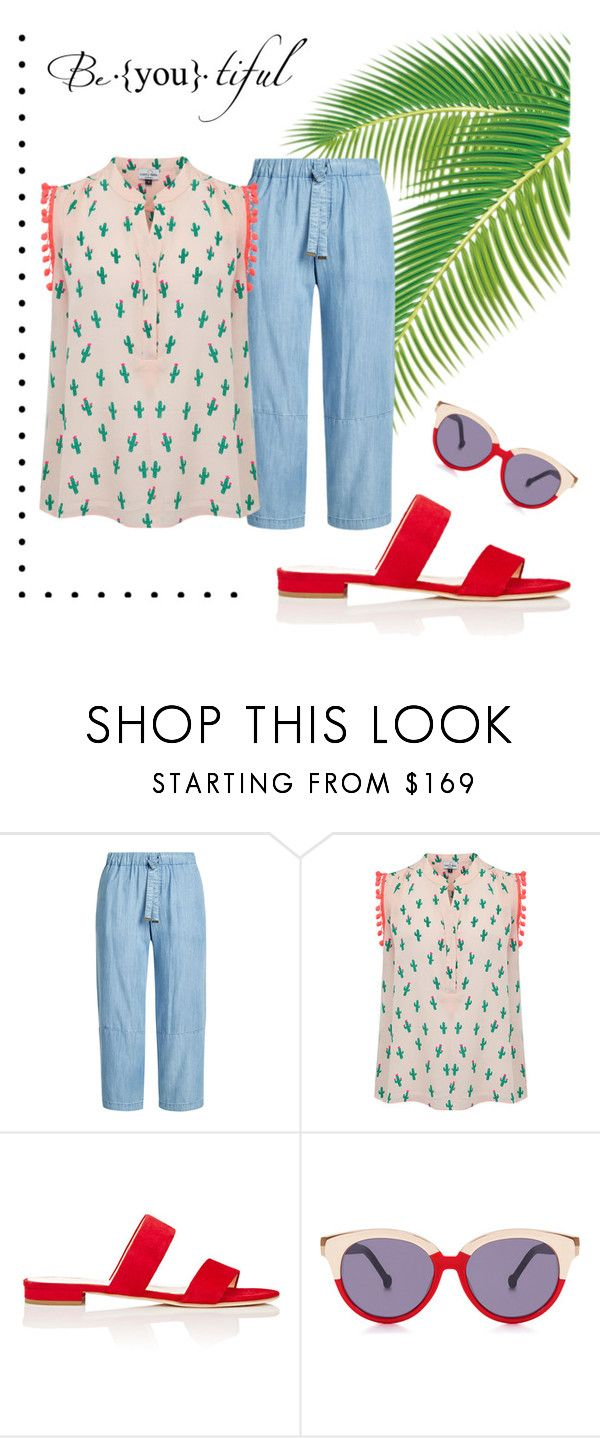 """Another Day in Paradise"" by miss-clara ❤ liked on Polyvore featuring Steffen Schraut, Mercy Delta, Barneys New York and Preen"
