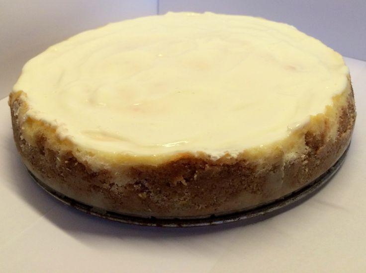Cheesecake bakad i ugn (Classic Cheesecake)