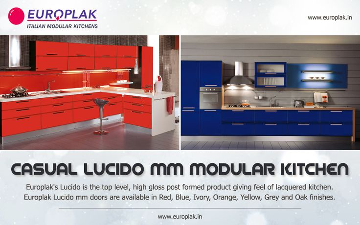 Europlak India offers Casual Lucido mm Modular Kitchen that provides exceptional features to furnish the highest performances in daily kitchen work. For more details Visit : http://www.europlak.in/ #EuroplakIndia #Kitchen #ModularKitchen