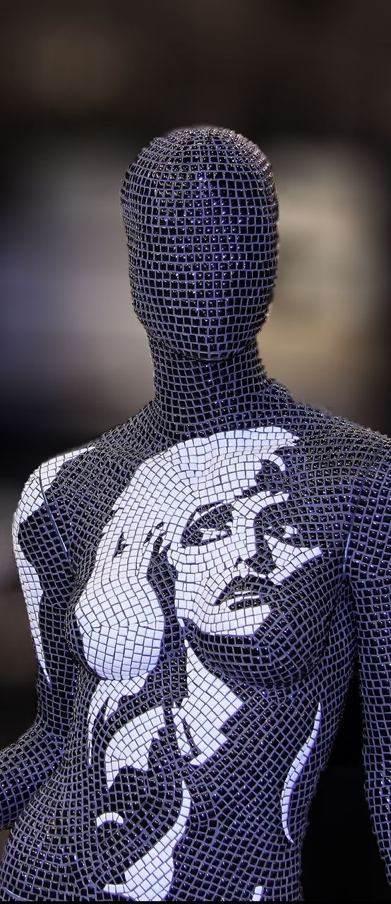 www.mosaicsart.co.uk · Decorative Mannequin Art by Mosaics Art London · BESPOKE · UNIQUE · INSPIRED