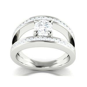 9ct Split shank ring - Available on our Facebook store!