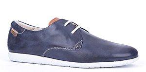 Pikolinos mens shoes Fawcet mens semi-formal casual shoes. #Mens #Leather #Blue #Navy #Casual #Pikolinos