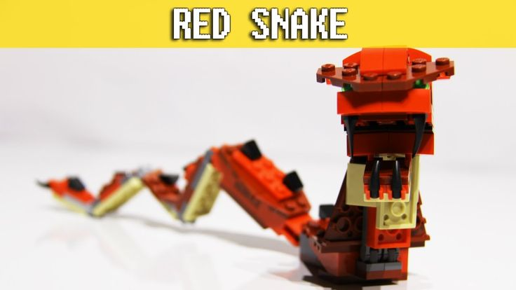 Red Creatures - LEGO Creator 3in1 - Red Snake Build set 31032 video: https://youtu.be/k4PJyOEE7zM