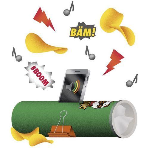 Wundertüte: Verstärker aus Chipsdose basteln