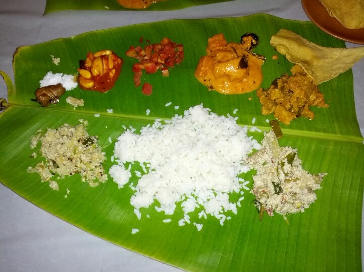 Mini sadhya Kerala Deluxe, Fort Mumbai Indian food